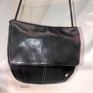 Nina Ricci black leather crossbody